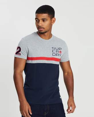 Superdry Applique Cut & Sew 08 T-Shirt