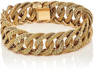 Mahnaz Collection Vintage Women's Woven Circle-Link Bracelet