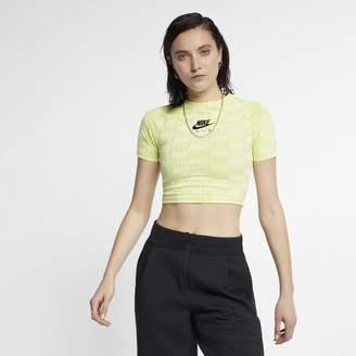 Nike Women's Short-Sleeve Print Top