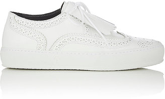 Robert Clergerie Women's Tolka Leather Sneakers $495 thestylecure.com