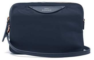 Anya Hindmarch Triple Stack Cross Body Bag - Womens - Blue Multi