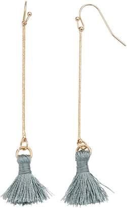 Lauren Conrad Stick Tassel Nickel Free Drop Earrings