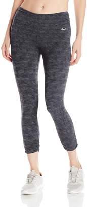 Spalding Women's Capri Legging with Crosshatched Print