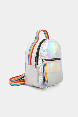 Ardene Iridescent Rainbow Backpack