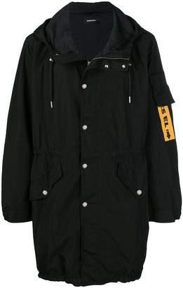 Diesel logo tag jacket