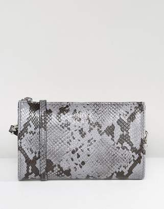 Armani Jeans Faux Snake Minimal Cross Body Bag