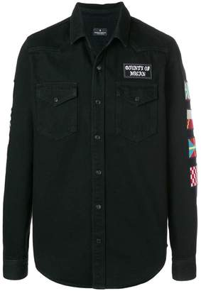 Marcelo Burlon County of Milan denim shirt jacket