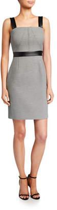 Toccin Modern Stretch Gingham Sleeveless Dress