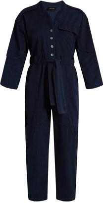 RACHEL COMEY Peddlers cotton jumpsuit $426 thestylecure.com