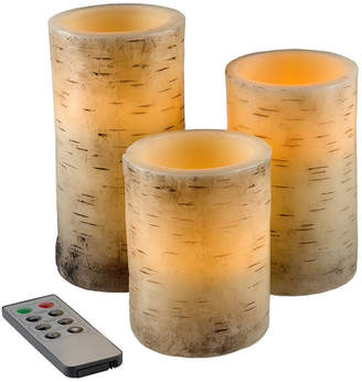 LAVISH HOME Lavish Home Flickering 3-pc. Flameless Candle