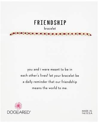 Dogeared Friendship Bracelet, Flat Bead On Silk Thread Bracelet