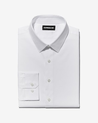 Express Extra Slim Easy Care Dobby 1Mx Shirt