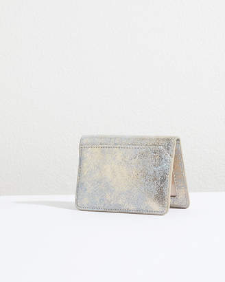 Jigsaw Leather Travel Card Holder