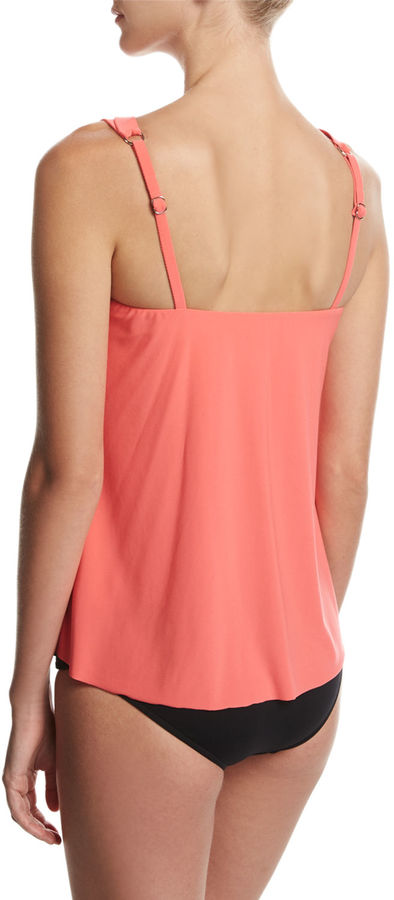 Magicsuit Michelle Solid Tankini Swim Top 3