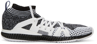 adidas by Stella McCartney Black & White CrazyTrain Bounce Sneakers $170 thestylecure.com