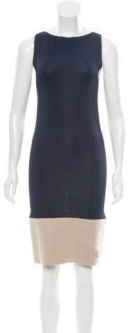 Balenciaga Balenciaga Knit Colorblock Dress