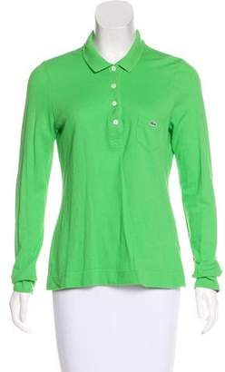 Lacoste Collared Polo Top