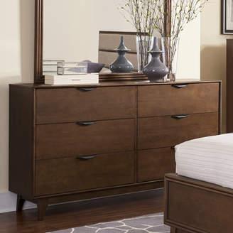 Corrigan Studio Alperton 6 Drawer Double Dresser