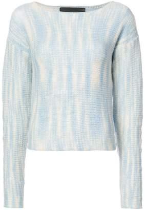 The Elder Statesman Rolo cropped sweater