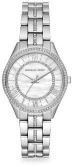 Michael Kors Mini Lauryn Stainless Steel Bracelet Watch