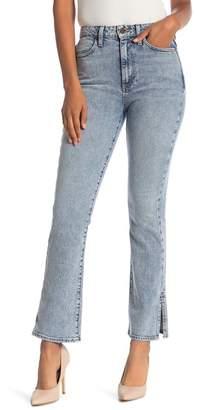 Alice + Olivia AO.LA Fabulous High Waist Baby Bootcut Jeans (Rebel)
