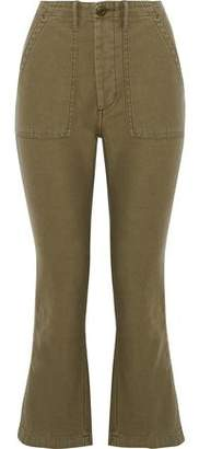 R 13 Cotton-Twill Kick-Flare Pants
