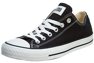 Converse Unisex Chuck Taylor All Star Low Top Black Monochrome Sneakers - 8 B(M) US Women / 6 D(M) US Men