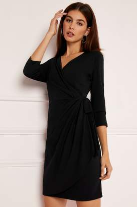 f53c28c9fc26 Next Lipsy Long Sleeve Wrap Mini Dress - 8
