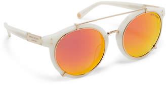 Henri Bendel Maggie Round Sunglasses