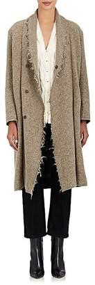 Pas De Calais Women's Frayed Wool-Blend Coat