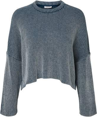 Noisy May Knitted Cotton Crewneck Sweater