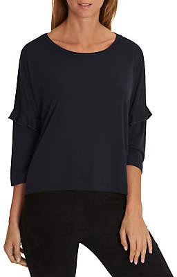 Co Betty & Oversized Fine Rib T-Shirt, Night Sky
