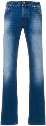 Jacob Cohen faded front jeans