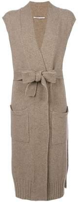 Agnona long wrap cardigan