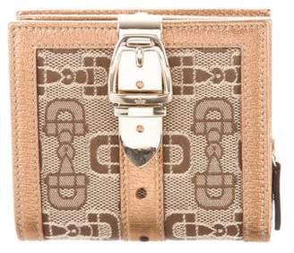 Gucci Horsebit Compact Wallet