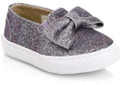 Janie and Jack Little Girl's Juno Valentine x Slip-On Sneakers