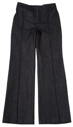 Balenciaga Balenciaga Mid-Rise Flared Jeans