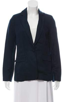 Frame Notch-Lapel Long Sleeve Blazer w/ Tags