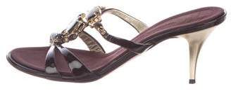 Giuseppe Zanotti Jewel Embellished Slide Sandals