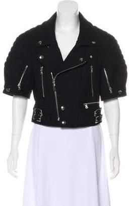 Phi Wool Cropped Jacket