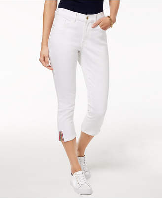 Tommy Hilfiger Straight-Leg Capri Jeans, Created for Macy's