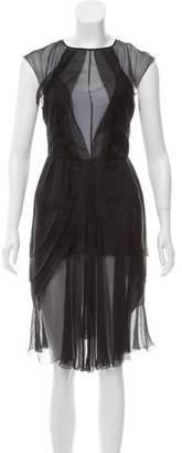 Chanel Sheer Tulip Dress