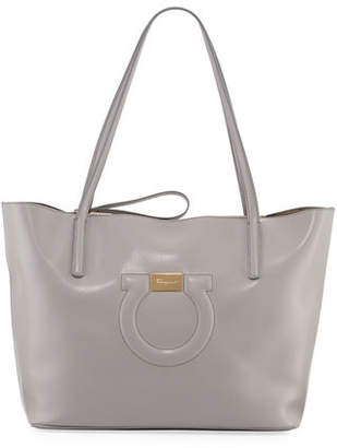 0a41b1a6b278 Salvatore Ferragamo Grey Leather Bags For Women - ShopStyle Canada