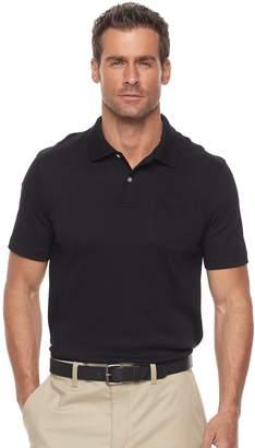 Croft & Barrow Men's Tailored-Fit Easy-Care Interlock Polo