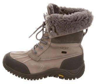 UGG Australia Adirondack Mid-Calf Boots $125 thestylecure.com