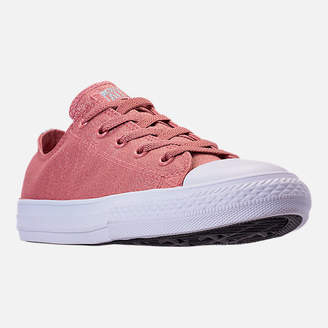 Converse Girls' Grade School Chuck Taylor Ox Casual Shoes