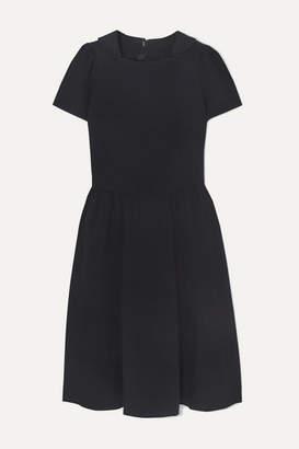 Comme des Garcons Crinkled-twill Dress - Navy