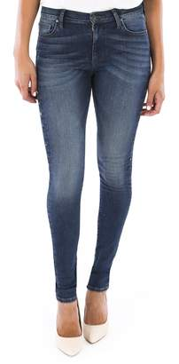 KUT from the Kloth Mia Embellished High Waist Skinny Jeans