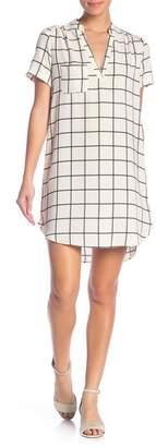 Lush Hailey Short Sleeve Printed Dress