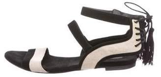 Rachel Zoe Canvas Slingback Sandals